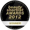Beauty Shortlist Award for Best Natural/Organic Brand of 2012!