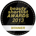 Beauty Shortlist Award for Best Natural/Organic Brand of 2013!