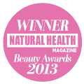 Natural Health Magazine Winner Best Organic Range 2013