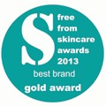 FreeFrom Skincare Awards 2013