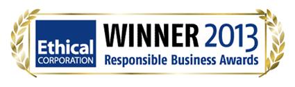 Ethical Corporation Winner 2013