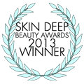 Skin Deep Beauty Awards WINNER 2013