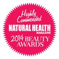 Natural Health magazine 2014 Beauty Awards