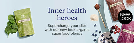 Organic Fibre Blend - FREE Health Guide