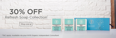 30% OFF Refresh Soap Collection