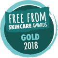 2018 Free from Skincare Awards - GOLD