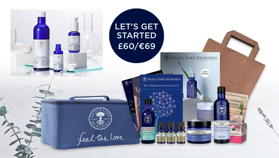 Star offer number 2 - starter kit with sensitive collection