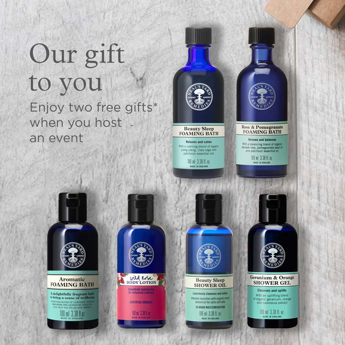 FREE Exclusive gift* when you host a party