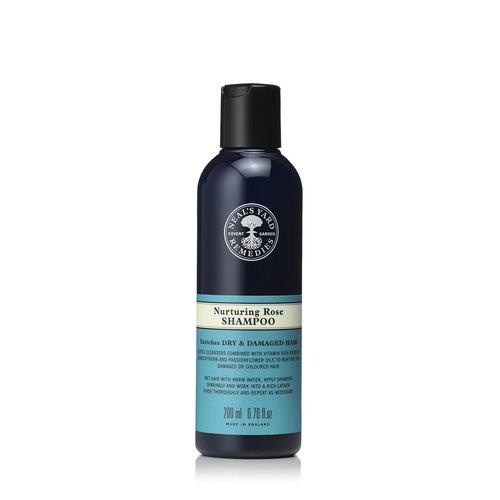 Nurturing Rose Shampoo 200ml, Neal's Yard Remedies