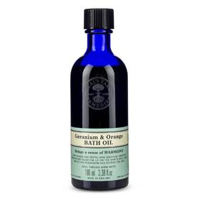 Geranium & Orange Bath Oil 100ml