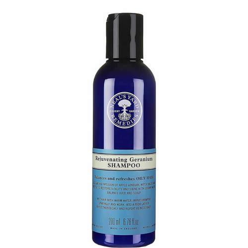 Rejuvenating Geranium Shampoo 200ml, Neal's Yard Remedies