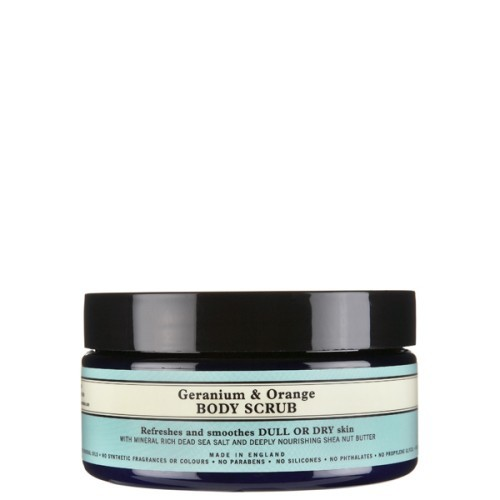 Geranium & Orange Body Scrub 200g, Neal's Yard Remedies
