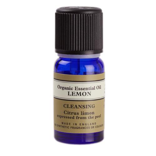 Lemon Organic Essential Oil 10ml, Neal's Yard Remedies