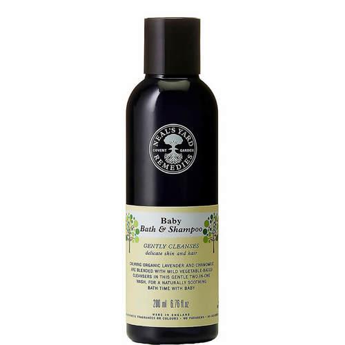 Baby Bath & Shampoo 200ml, Neal's Yard Remedies