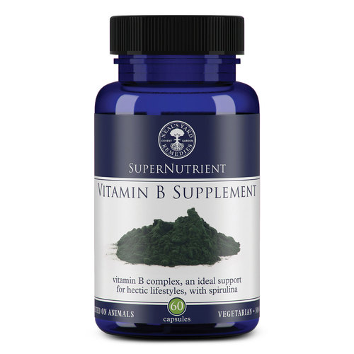 SuperNutrient Vitamin B Supplement (60 Capsules), Neal's Yard Remedies