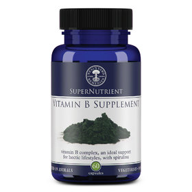 SuperNutrient Vitamin B Supplement (60 Capsules)