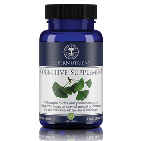 Cognitive Supplement (60 Capsules) BBE 05/18