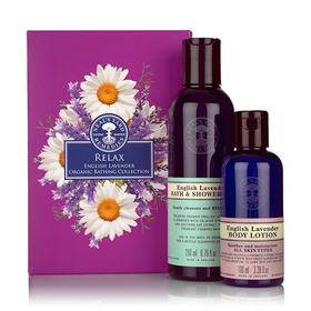 *Old* Relax - English Lavender Organic Bathing Collection