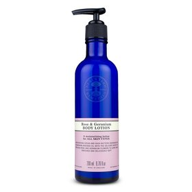 Rose & Geranium Body Lotion 200ml