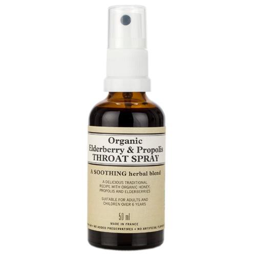 Elderberry & Propolis Throat Spray 50ml, Neal's Yard Remedies
