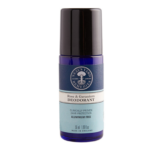 Roll On Deodorant Rose & Geranium 50ml, Neal's Yard Remedies