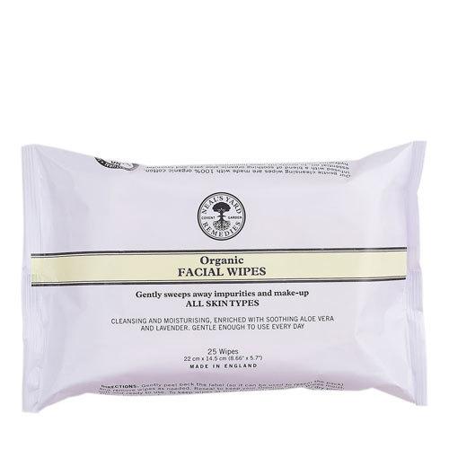 Organic Facial Wipes (x25 Wipes), Neal's Yard Remedies