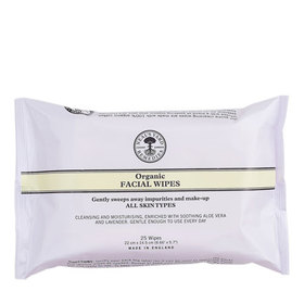 Organic Facial Wipes (x25 Wipes) BBE 07/21