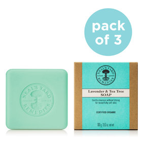Soap Trio Lavender And Tea Tree