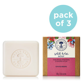 Soap Trio Wild Rose