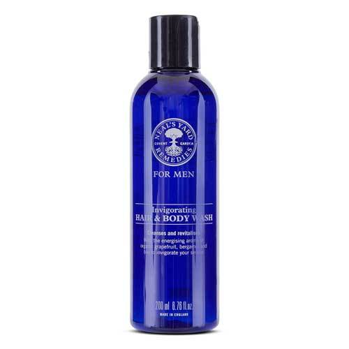 For Men Invigorating Hair And Body Wash 200ml, Neal's Yard Remedies