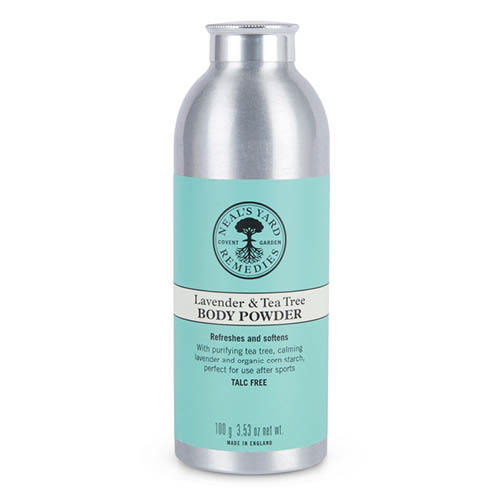 Lavender & Tea Tree Body Powder 100g, Neal's Yard Remedies