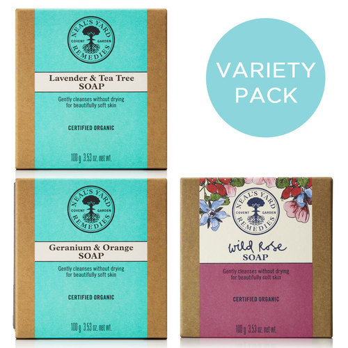 Soap Variety Pack (x3), Neal's Yard Remedies