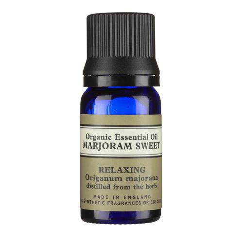 Marjoram Sweet Organic Essential Oil 10ml With Leaflet, Neal's Yard Remedies