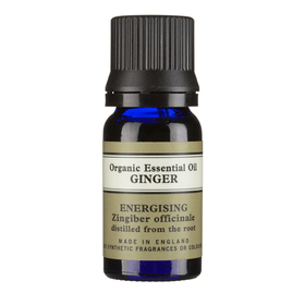 Ginger Organic Essential Oil 10ml With Leaflet
