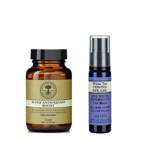 White Tea Eye Gel & Super Antioxidant Boost 60 Caps