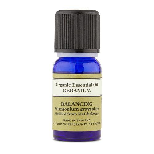 Geranium Organic Essential Oil 10ml With Leaflet, Neal's Yard Remedies