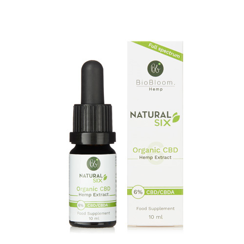 BioBloom Natural Six Organic CBD Hemp Extract 6%, Neal's Yard Remedies