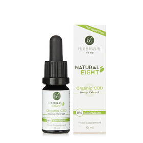 BioBloom Natural Eight Organic CBD Hemp Extract (8%)