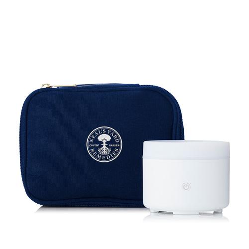 *old* Liv USB Aroma Diffuser NYR Logo Bag, Neal's Yard Remedies