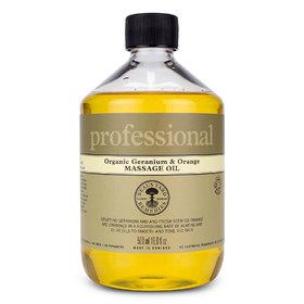 Geranium And Orange Massage Oil 500ml