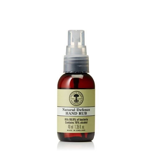 Natural Defence Hand Rub 40ml With Spray Cap, Neal's Yard Remedies