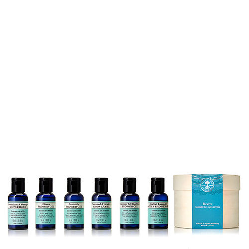 REVIVE Shower gel collection, Neal's Yard Remedies