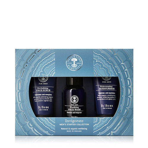 INVIGORATE Men's Starter Collection, Neal's Yard Remedies