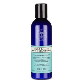English Lavender Shower Gel 200ml COSMOS