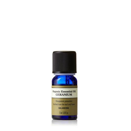 Geranium Organic Essential Oil 10ml, Neal's Yard Remedies