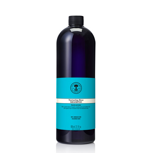 Nurturing Rose Shampoo 950ml, Neal's Yard Remedies