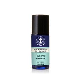 Roll On Deodorant Rose & Geranium 50ml 2021