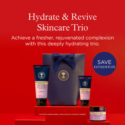 Hydrate And Revive Skincare Trio, Neal's Yard Remedies