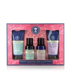 Lavender, Rose & Geranium Body Collection